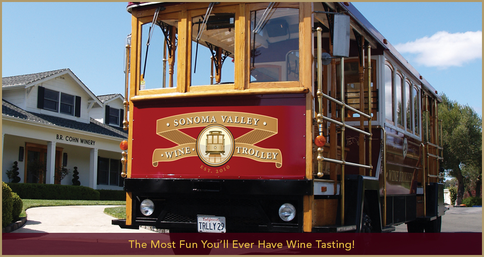 Sonoma Valley Wine Trolley Slide