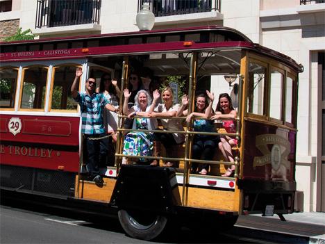 napa valley wine trolley 1
