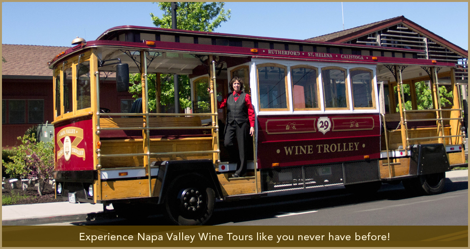 Napa Valley Wine Trolley Slide